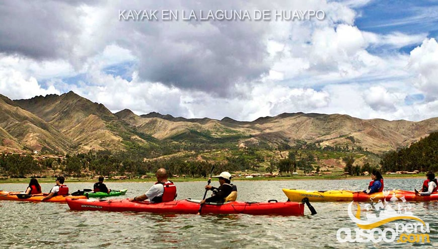 tour laguna piuray Kayak