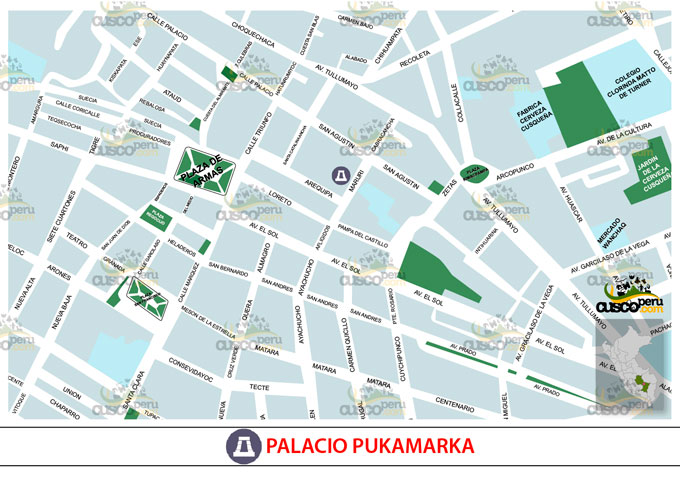 Map Palace Pukamarka