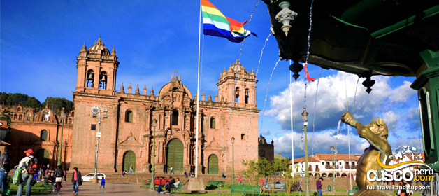 The Basilica Cathedral of Cusco