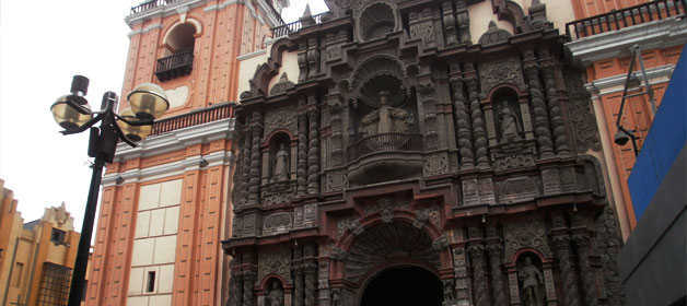 La Merced Church Lima