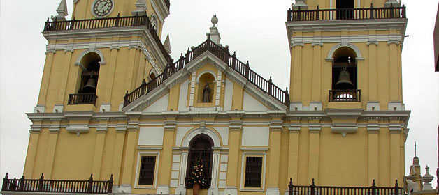 San Pedro church Lima