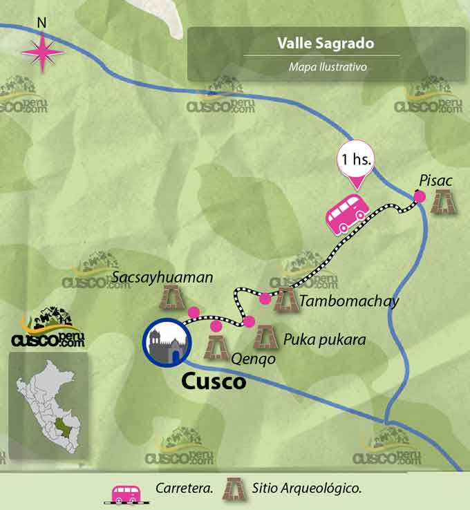 Pisac Archaeological Park - Map, Attractions and Ruins of Pisac on