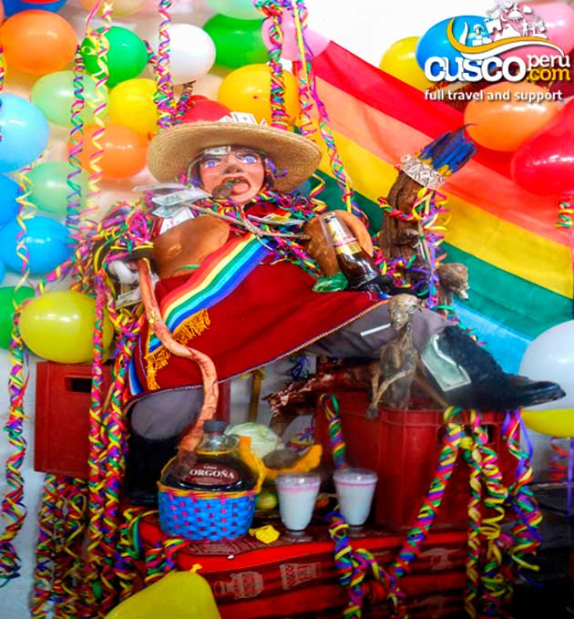 Joy colors and flavor of cusco carnival
