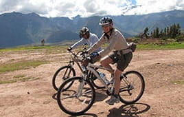 Mountain Biking - Cusco Ruins tour of Half day