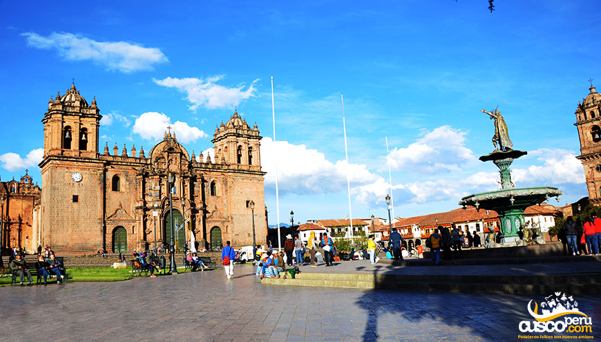 tour cusco plaza de armas