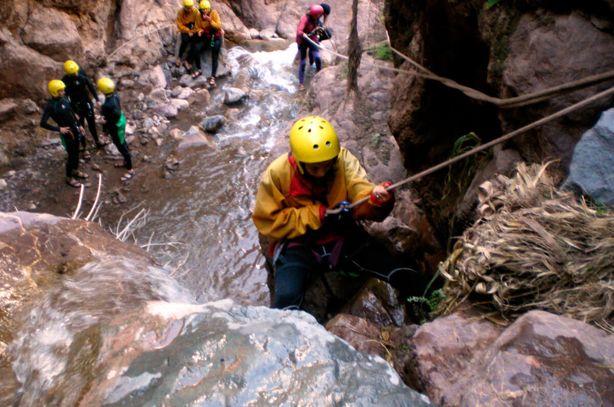 Canyoning the Pisac Gorge - Rappel in Cusco 6 Hours