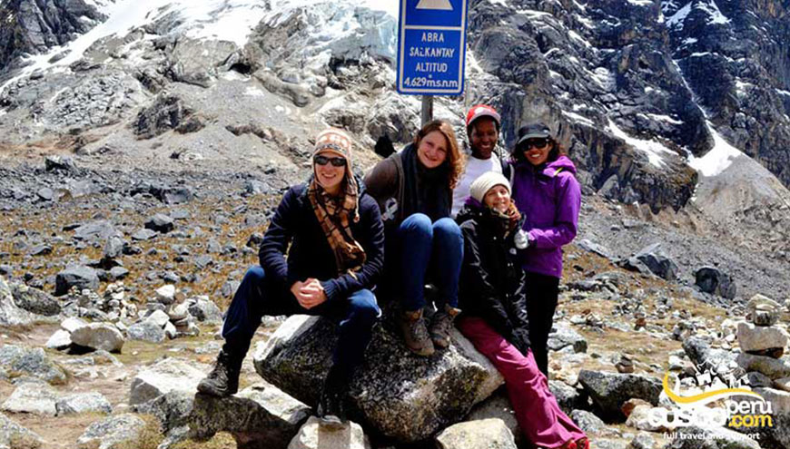 trail salkantay machu picchu 4days